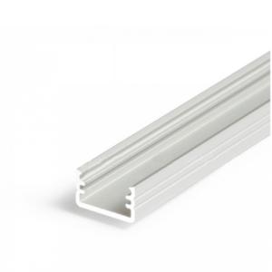 LED profil, SLIM8, A/Z, alu-surovi, 2m