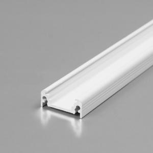 LED profil, SURFACE10, BC/UX, alu-belo barvan, 2m