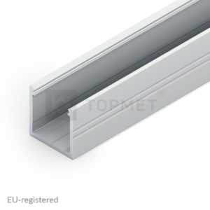 LED profil, SMART16, B/U4, alu-surovi, 2m