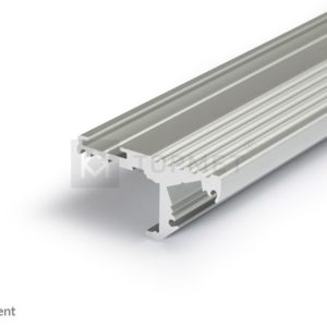 LED profil, STEP10, C, alu-anodiziran, 2m