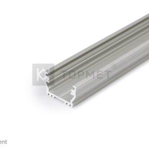 LED profil, UNI12, BCD/U, alu-anodiziran, 2m