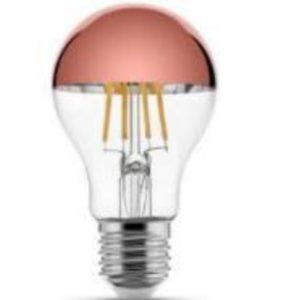 LED sijalka klasika Mirror Top - rdeča