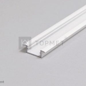 LED profil, BEGTIN12 J/S, alu-belo barvan, 2m