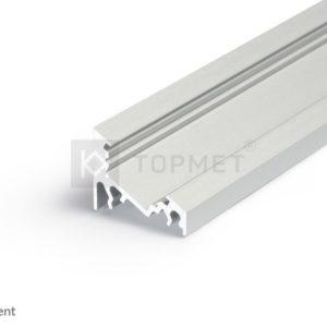 LED profil, CORNER10 BC/UX , anodiziran, 2m