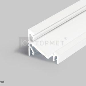 LED profil, CORNER14 EF/TY, alu-belo anodiziran, 2m