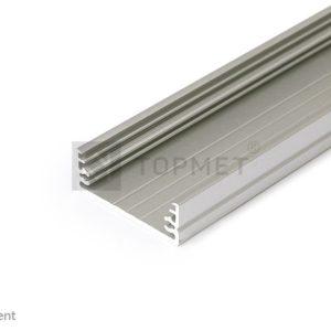 LED profil, WIDE24 G/W, anodiziran, 2m