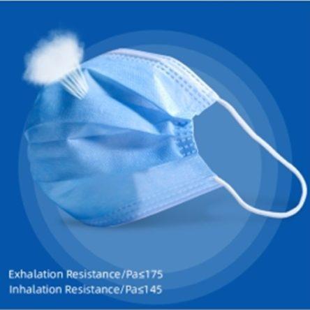 Medicinska zaščitna maska – 3-slojna za obraz, 50 kosov