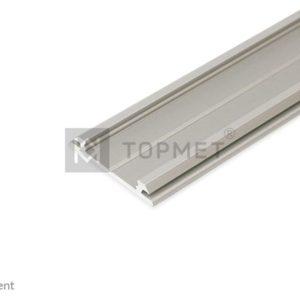 LED profil, ARC12 CD/U5, anodiziran, 2m