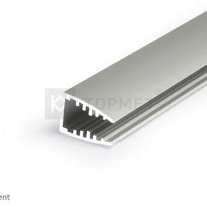 LED profil, MIKRO10, anodiziran, 2m