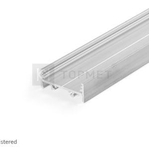 LED profil, VARIO30-01, alu-surovi , 2m