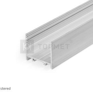 LED profil, VARIO30-02, alu-surovi , 2m
