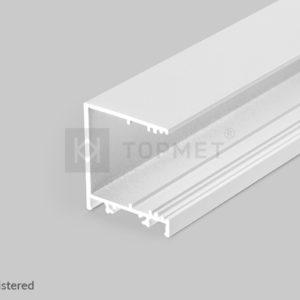 LED profil, VARIO30-03, alu-belo barvan , 2m