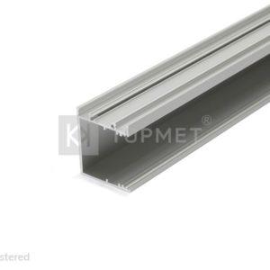 LED profil, VARIO30-03, anodiziran, 2m