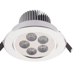 Notranja Stropna, DOWNLIGHT LED 5 silver, 5W, IP20