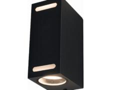 Zunanja svetilka, stenska, ASSOS II, 10W, 2xGU10, IP54