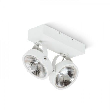 KELLY LED II stenska bela  230V LED 2x12W 24°  3000K