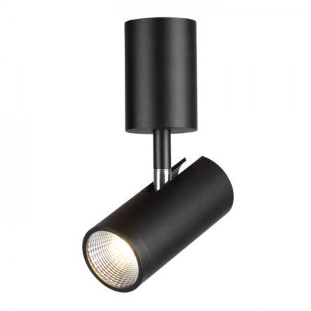 BOGARD stropna mat črna  230V LED 5W 40°  3000K