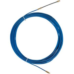 Predvleka za kable, TWIST, poliester, 5,2mm, 25m, M5, modra
