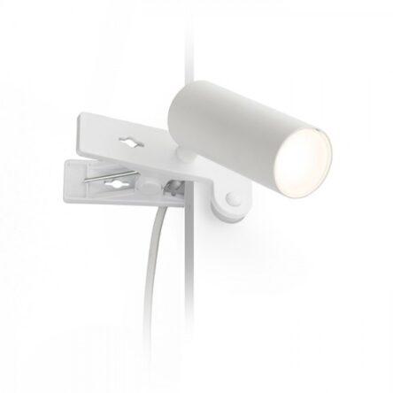 TAPIO s sponko bela  230V LED 4.5W  3000K