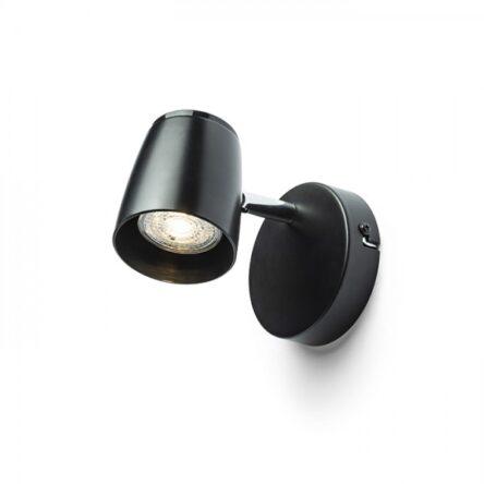 JOLI I stenska črna  230V LED GU10 10W
