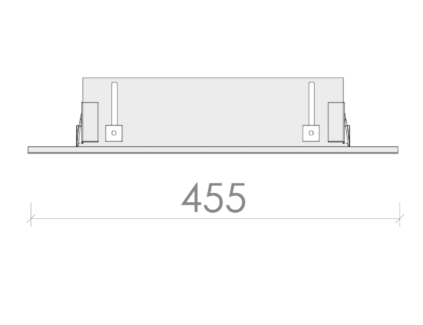 BOTERO posebna LED svetilka, vodotesna-prahotesna IP65, 48W