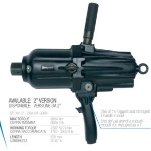 "Pnevmatska Pištola Paoli-DP 381, 1 ½ "", 8000 Nm"