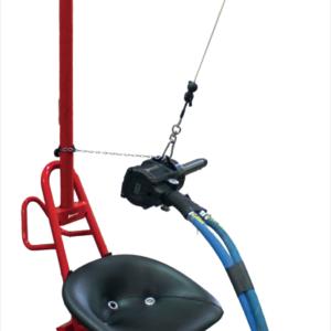 Montažni voziček s sedežom Paoli- Slim suspension
